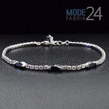 Tennisarmband 925 echt Sterling Silber Damen Armband Zirkonia ca. 3,2 Karat