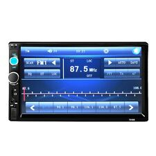 2Din Car Radio MP5 Player 7'' HD Touch Screen Bluetooth SD USB Stereo Auto Phone