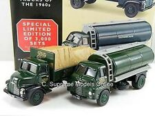 BOOTS BEDFORD S & LEYLAND COMET TRUCK MODEL SET 1/64 SCALE MINT LORRY GREEN  **