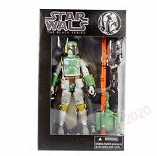 """Action Figure Boba Fett #06 Star Wars The Black Series 6"""" With Box"""
