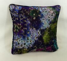 "Designers Guild Palasini Cobalt  Cushion Cover  - 16"" Self Piped Stunning Heavy"