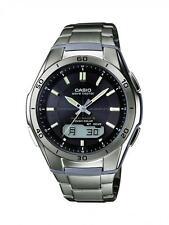 Gents Casio Solar Titanium Watch WVA-M640TD-1AER RRP £180.00 Our Price £124.95