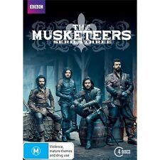 THE MUSKETEERS-Series 3-Region 4-New AND Sealed-3 Disc Set-TV Series