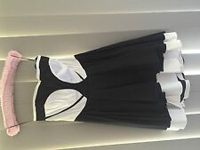 Womens Wayne Cooper Black and White Dress Size 2