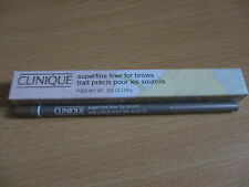 BNIB Clinique Superfine Liner for Brows 0.08g 01 Soft Blonde FULL SIZE