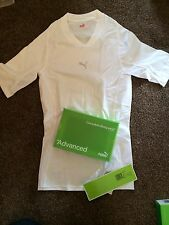Womens Puma Advanced Complete Body Wear Base Layer Sports T Shirt Top - Size 10