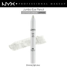 NYX JUMBO EYE PENCIL EYELINER EYE SHADOW COTTAGE CHEESE LIGHT SILVER #JEP 608