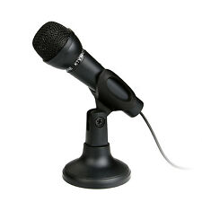 Microphone Mic for Laptop PC Computer MSN Skype Web Chat PC Online 3.5mm Plug