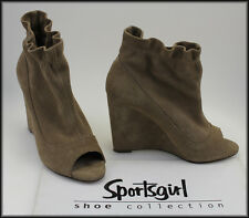 SPORTSGIRL WOMEN'S SUEDE OPEN-TOE WEDGED FASHION SHOES SIZE 6 NEW R.RP$149.95