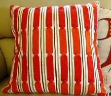 One Duck Two Twisties Red Cushion Cover 45x45
