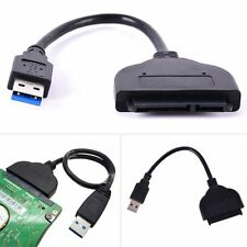 USB 3.0 to External SATA 3Gbps 22 Pin Hard Drive Cable Adapter Connecter USB New