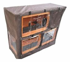 Large Rabbit Cage Cover Double Decker Pet Bunny Hutch Rain Wind Snow Protector
