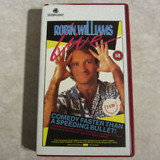 ROBIN WILLIAMS LIVE (1986) New York Metropolitan Opera House - VHS video comedy