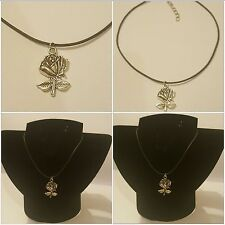 Beauty And The Beast Disney Rose Choker Necklace