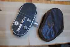 Rare vintage Agfa Movex cine camera in original case.