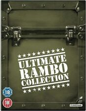 Rambo: The Ultimate Collection 1 2 3 & 4 Box Set | New | Sealed | Blu-ray