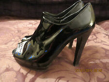 STUART WEITZMAN for RUSSELL & BROMLEY STILETTO PEEPTOE SHOES SIZE 38