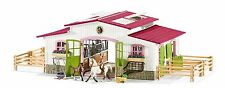 Schleich 42344 Horse Stable Riding Centre with Horses and Accessories New 2016