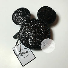 DISNEY MICKY MOUSE GLITTER LOGO Zip Coin Purse with Ears from Primark