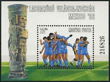 Hungary 1986 SG#MS3695 World Cup Football MNH M/S #D2626
