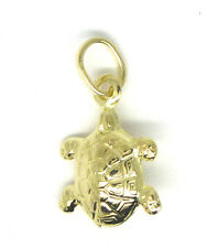 9ct Yellow Gold Turtle Charm                                                3893