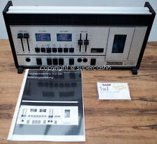 MINT Tandberg TCD 330 Vintage HighEnd 3-Head Reference Tapedeck + Stands WOW!!!