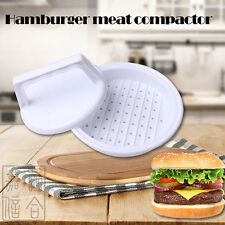 New Plastic Stuffed Burger Press Hamburger Patty Maker and Sliders