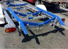 2 Meter Ribbed Boat Trailer Plastic Bunks With 45 Degree Angles - Brand New!