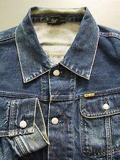Diesel Gregg Denim Jacket Men's XL Extra Large Blue Wash 00792 Vintage LJKTz979
