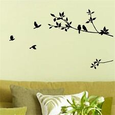 Bird Tree Branch Wall Decor Bedroom Home Decals Wall Sticker Art Removable Decal
