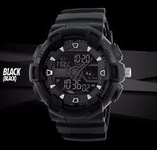 Skmei Sports Men Quartz Digital Analog Watch 50M Waterproof Military Wristwatch