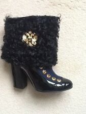 Stunning CHANEL ankle boots Size 38 UK5 Limited Collection Paris - Moscow.