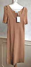NEW + TAGS - ALMOST FAMOUS Copper Two Layer Party Xmas Dress Small 8