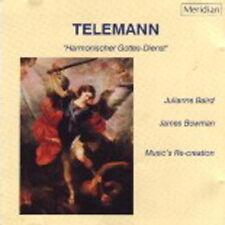 Telemann: Harmonischer Gottes-Dienst; James Bowman Julianne Baird / CD neuwertig