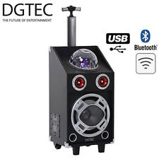 BRAND NEW DGTEC DGPA-66S PORTABLE PARTY PA SPEAKER SYSTEM WIRELESS MIC BLUETOOTH