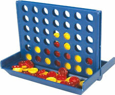 4 In A Line 2 Player Strategy Connect Four Travel Size Board Game New Boxed