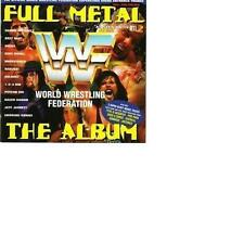 Full Metal - The Album The WWF Superstars & Slam Jam King Mabel Goldus