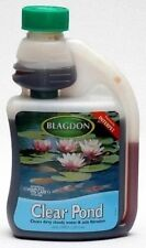 Blagdon Clear Pond 1000ml for Crystal Clear Garden pond Interpet Cloudy Water