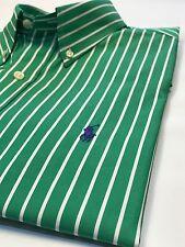 Ralph Lauren Green Stripe Shirt M