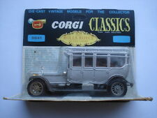 C1966 VINTAGE CORGI TOYS 1912 ROLLS ROYCE SILVER GHOST No 9041 MINT BOXED CAR