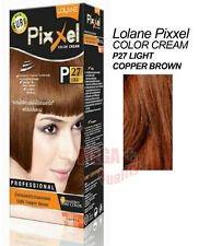 Lolane Pixxel Hair Permanent Dye Color Colour Cream P27: light copper brown