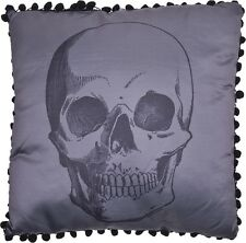 Sourpuss Anatomical Skull Pillow Case & Cushion Alternative Gothic Throw or Bed