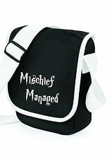 Harry Potter Mischief Managed MESSENGER SHOULDER BAG SCHOOL COLLEGE,