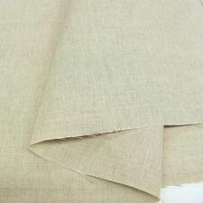 natur LEINEN-Stoff nicht gefärbt nicht gewaschen rustikale ROHWARE mit Baumwolle