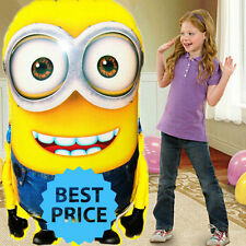 92*65cm DESPICABLE ME MINION DAVE HELIUM FOIL BALLOON BIRTHDAY PARTY SUPPLIES