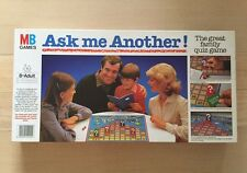 Ask Me Another ! Vintage Family Quiz Board Game 1984 MB Games 8+ 100% Complete