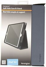 10 x Kensington Comercio Soft Folio Cover Case and Stand for iPad Air 1 2 Grey