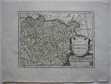 Das Koenigreich Serbien Kolor Kupferstich Karte Reilly 1791 Balkan