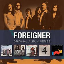 FOREIGNER - ORIGINAL ALBUM SERIES: 5CD ALBUM SET (2009)