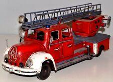 Magirus 1955 Blechfeuerwehr Blechmodell Tin Model Vintage Fire Truck 35 cm 37227